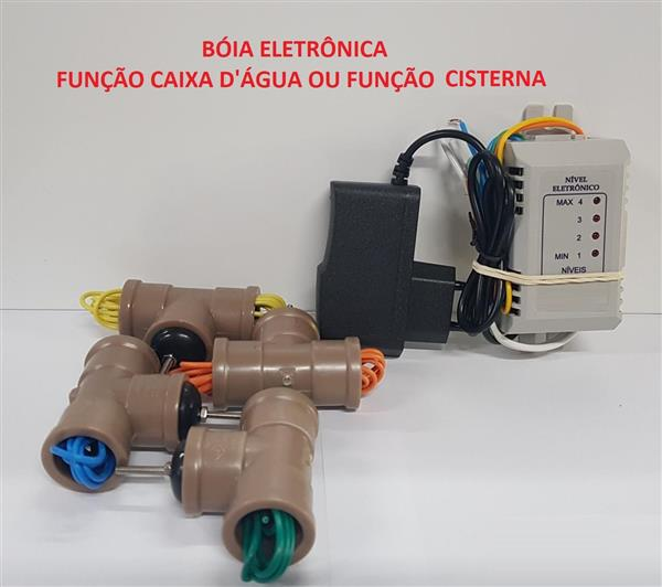 Bóia Eletrônica (Controle automático de bomda de água )